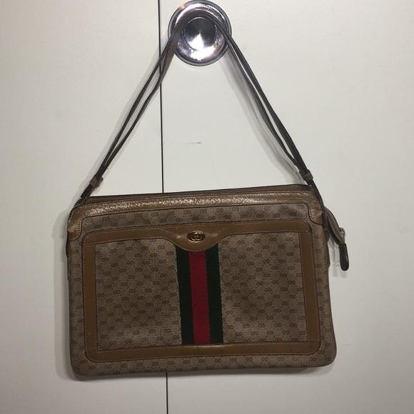 58acabfd59d6 Gucci Bags | Vintage Purse Well Loved Handbag | Poshmark
